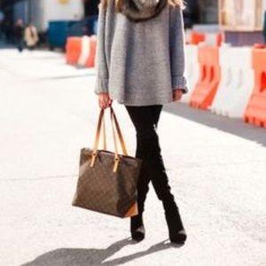 Louis Vuitton authentic vintage Cabas Alto XL tote